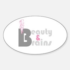 Top Beauty Oval Decal