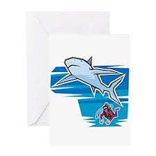SHARK (18) Greeting Card