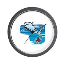 SHARK (18) Wall Clock