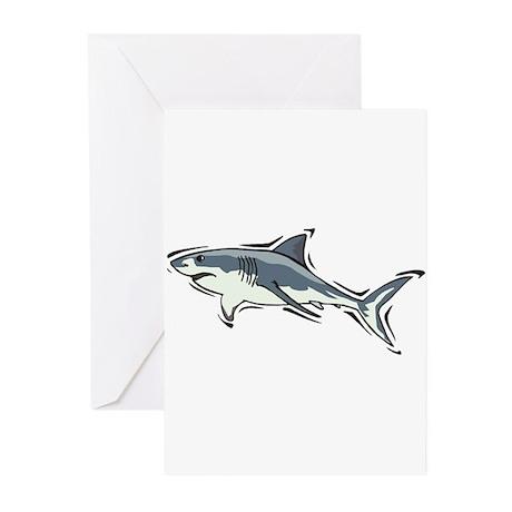 SHARK (21) Greeting Cards (Pk of 20)