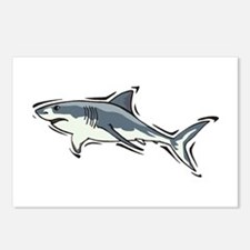 SHARK (21) Postcards (Package of 8)
