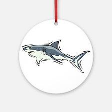 SHARK (21) Ornament (Round)