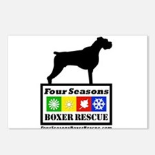 FSBR logo with Boxer Icon Postcards (Package of 8)