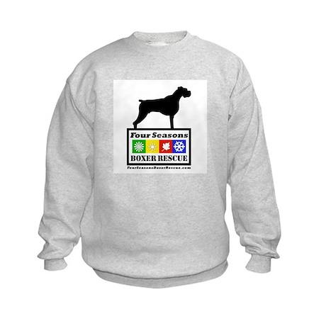 FSBR logo with Boxer Icon Kids Sweatshirt