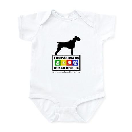 FSBR logo with Boxer Icon Infant Bodysuit