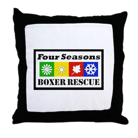 FSBR Logo without Boxer Icon Throw Pillow