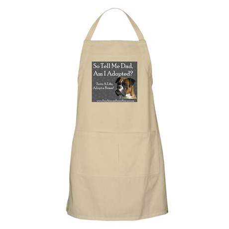 Dad, Am I Adopted? BBQ Apron