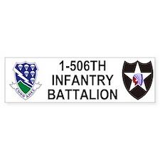 506th Infantry Bumper Bumper Sticker