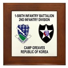 506th Infantry Framed Tile 2