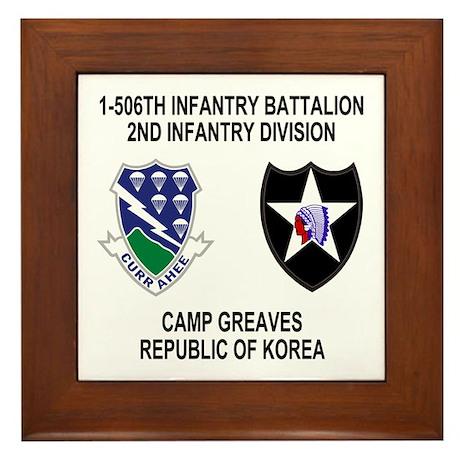 506th Infantry Framed Tile 2