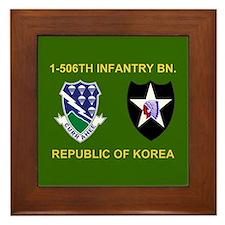 506th Infantry Framed Tile 1