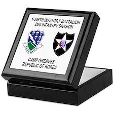 506th Infantry Insignia Keepsake Box 2