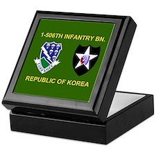 506th Infantry Insignia Keepsake Box 1