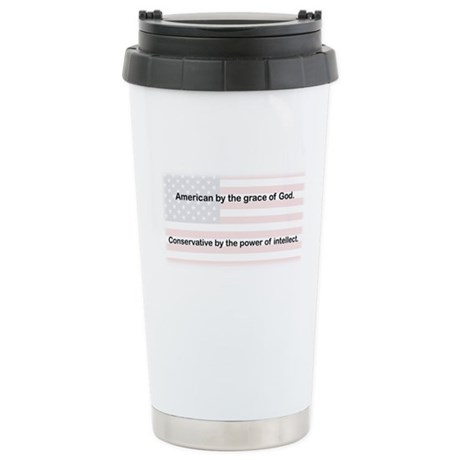 American Conservative Stainless Steel Travel Mug