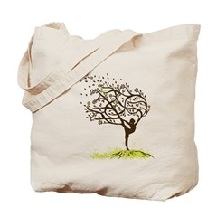 Stretching My Limbs Tote Bag