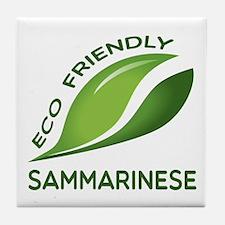Eco Friendly Sammarinese Tile Coaster
