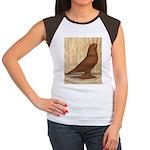 WOE Red Tumbler Women's Cap Sleeve T-Shirt