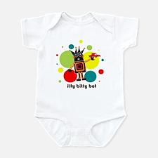 """itty bitty bot"" infant bodysuit"