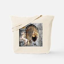 Medieval Cairn Terrier Tote Bag