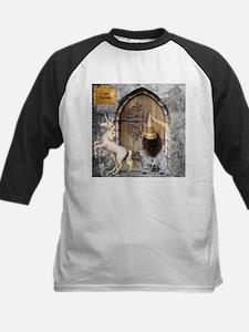 Medieval Cairn Terrier Kids Baseball Jersey