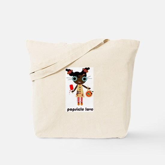 popsicle love (tote bag)
