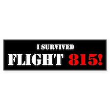 """""""I Survived Flight 815"""" (Bumper Sticker)"""
