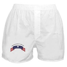 Pround Father of a Soldier St Boxer Shorts