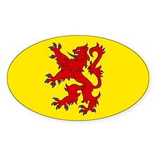 Scottish Oval Bumper Stickers