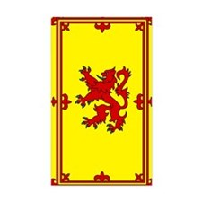 Scottish Rectangle Decal