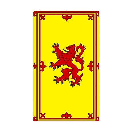 Scottish Rectangle Sticker