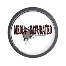 Media Saturated -  Wall Clock