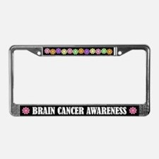 Brain Cancer Awareness License Plate Frame