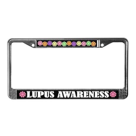 Lupus Awareness License Plate Frame