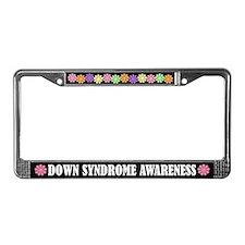 Down Syndrome Awareness License Frame