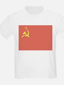 USSR Flag Kids T-Shirt
