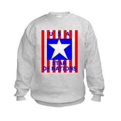 USA STAR OF NATIONS Sweatshirt
