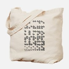 Braille A to Z Tote Bag