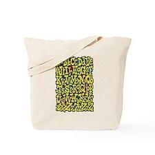 Alphabet A to Z Tote Bag