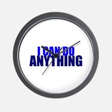 "Tienspiration ""I Can Do Anyth Wall Clock"