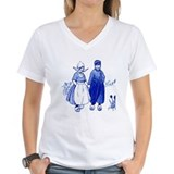 Dutch Womens V-Neck T-shirts