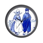Dutch Boy Wall Clock