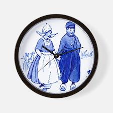 Dutch Boy Wall Clock