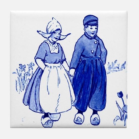 Dutch Boy Tile Coaster