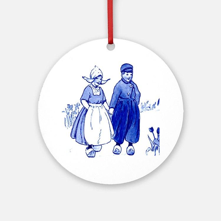 Dutch Boy Ornament (Round)