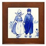 Dutch Boy Framed Tile