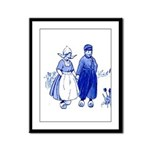 Dutch Boy Framed Panel Print