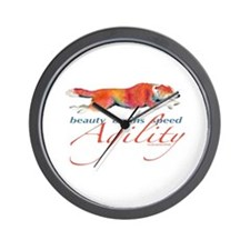 Beauty, Brains and Speed Wall Clock