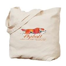 Real dogs Real fast Tote Bag