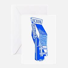 KXOK St. Louis Greeting Card