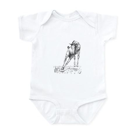 Leaping Colt & Rabbit Infant Bodysuit